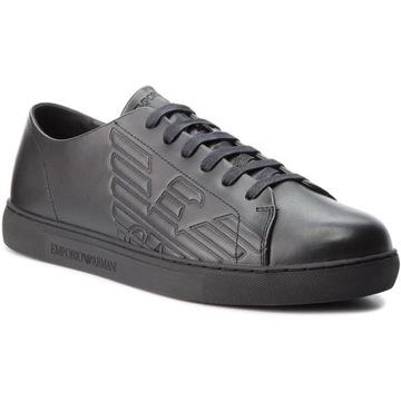 Sneakersy EMPORIO ARMANI X4X238 XF254 00002 Black