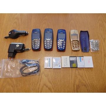 3 x Nokia 3310 plus akcesoria