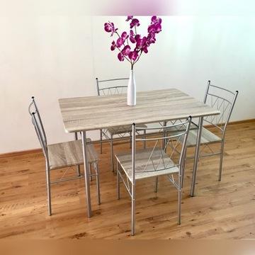 NOWY zestaw stół z krzesłami do kuchni krzesła 4