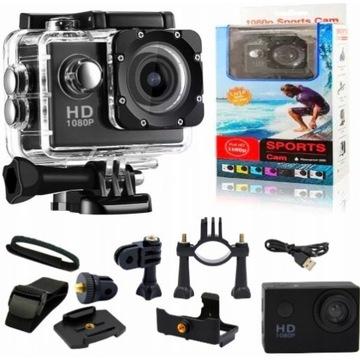 Kamera sportowa  FULL Hd +akcesoria