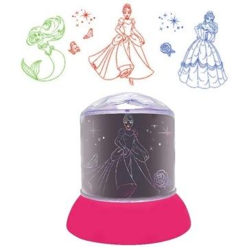 Światło z projektorem Disney Princess
