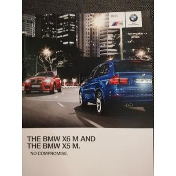 prospekt Bmw x6 m, x5 m e70, e71