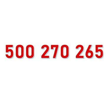 500 270 265 ORANGE ŁATWY ZŁOTY NUMER starter