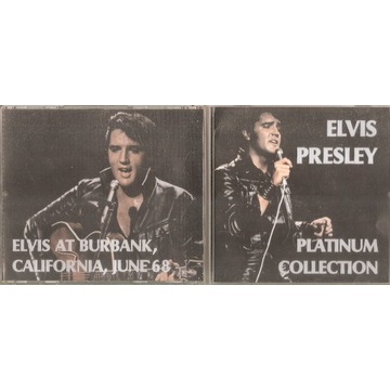 e.presley -2CD platinum collection / selles