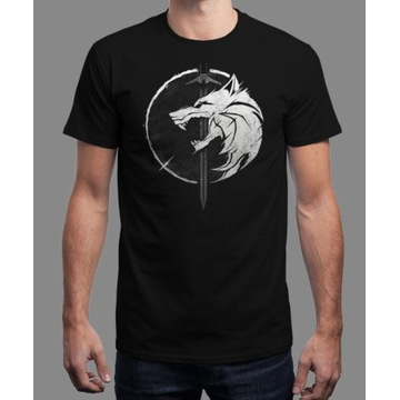 Nowy T-shirt firmy qwertee - White Wolf