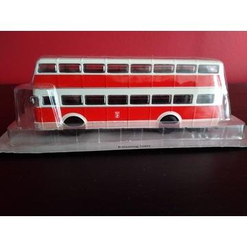 Bussing D2U Kultowe Autobusy PRL DeA 1:72 WAW