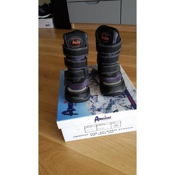 buty zimowe dla chłopca rozmiar 28