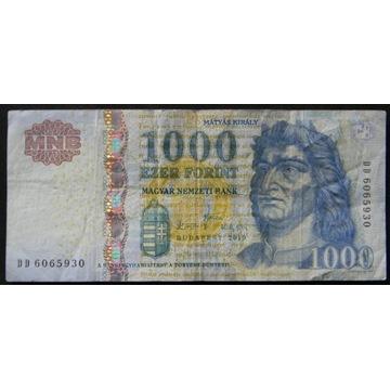 WĘGRY 500 FORINT banknot obiegowy (zestaw B45)