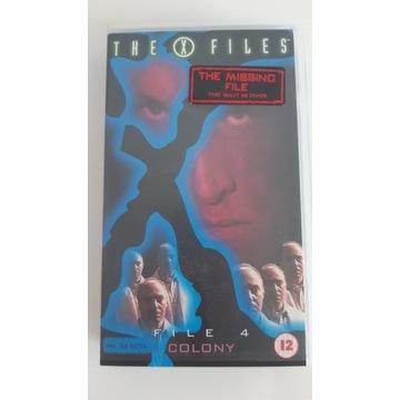 ARCHIWUM X ''KOLONIA'' VHS