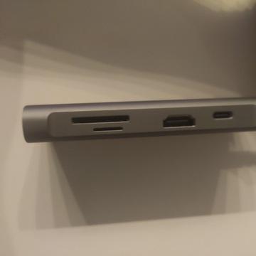 Adapter wieloportowy USB _ HDMi_ micro/SD