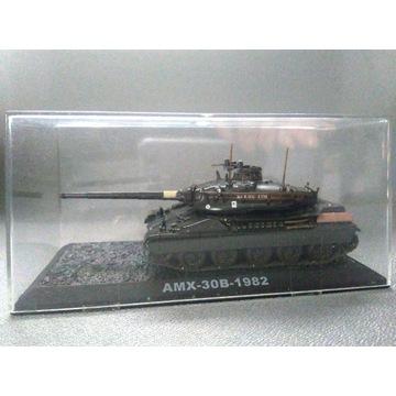 kolekcjonerski MODEL CZOŁGU AMX-30B - 1982