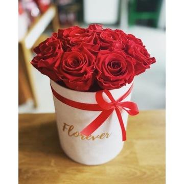 Flowerbox wieczne róże