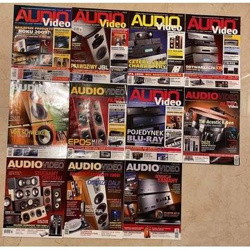 AUDIO VIDEO roczniki 2004-2010