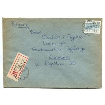 Gorzuchowo (Chełmno) - Koperty polecone 1972-89