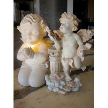lampka - figurka aniołki