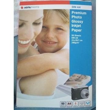 papier fotograficzny błyszczący A4 240 g/m2 50 ark