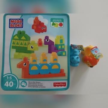 Fisher Price Mega Bloks, babyClementoni zwierzątka