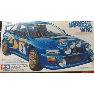 1/24 Subaru Impreza WRC Monte Carlo Tamiya (24199)