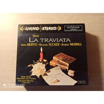 VERDI La Traviata Previtali Moffo RCA UNIKAT