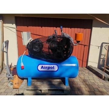 Sprężarka kompresor AIRPOL pomet N50 A50 N70 zbior