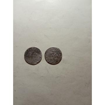 Zestaw 2 monet Gustaw Adolf 1633