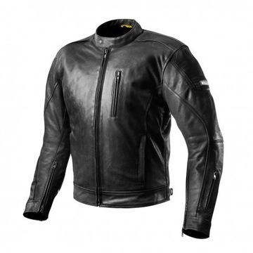 Skórzana kurtka motocyklowa Shima Hunter czarna S