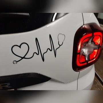 Naklejka na samochód , Medyczna