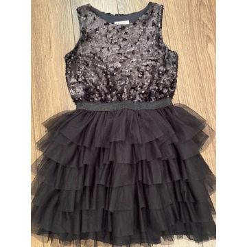 Czarna Sukienka H&M  rozmiar 152 cm