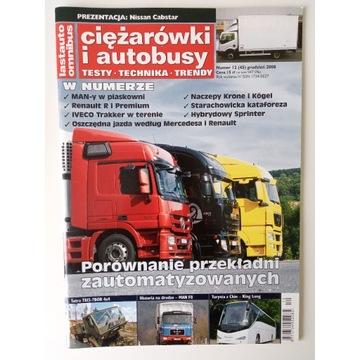Magazyn Ciężarówki i autobusy Nr 12 Grudzień 2008