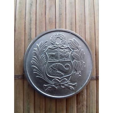 moneta 100 soli 1980 Peru
