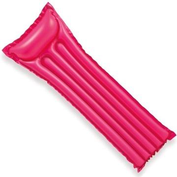 Różowy materac do pływania 183 x 69 cm