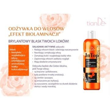 """Odżywka Do Włosów """"Efekt biolaminacji"""" 200 ml !"""