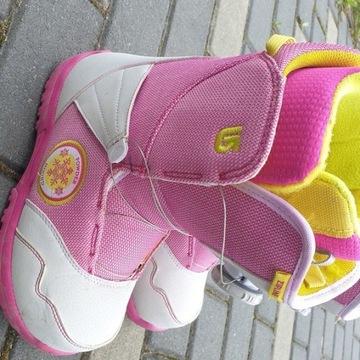 Burton youth zip BOA buty snowboardowe młodzieżowe