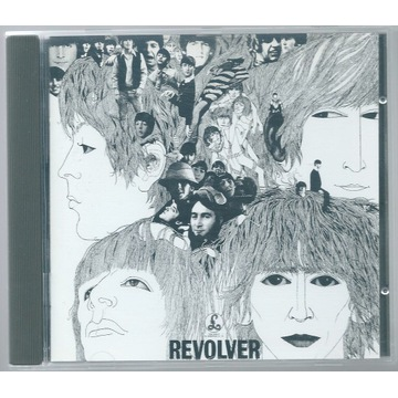 THE BEATLES - Revolver - CD 1966 UK Unikat