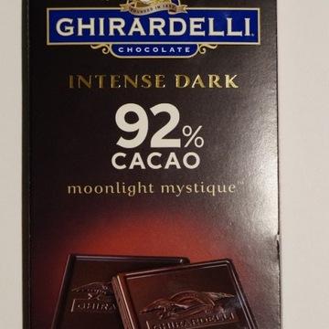 Luksusowa czekolada gorzka Ghirardelli 92% kakao