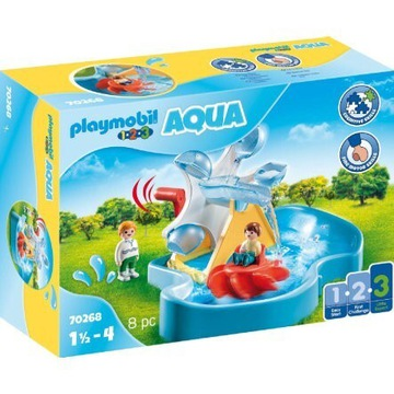 Aqua Młyn wodny z karuzelą 18m+ 70268 Playmobil