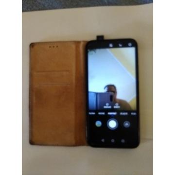 Huawei Smartfon P Smart Z (2019) w skórzanym etui