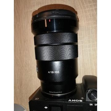 Obiektyw Sony e 18-105 + filtr polaryzacyjny hoya