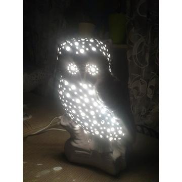 Lampka led lampa sowa