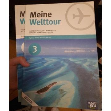Podręczniki + ćwiczenia Meine Welttour