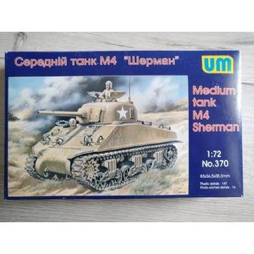 Średni czołg M4 Sherman 1:72 UM no.370