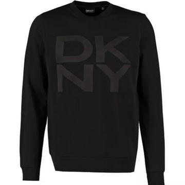 DKNY- Bluza czarna w roz.L  /oversize