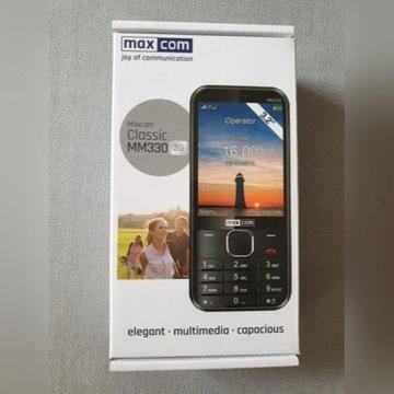 Telefon MAXCOM Classic MM330 NOWY