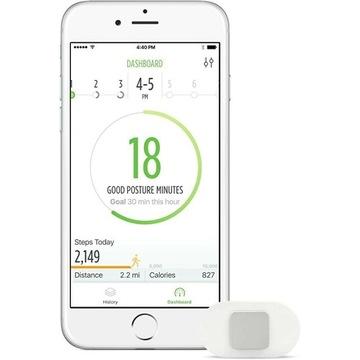 Monitor pozycji i aktywności Lumo Lift dla Apple