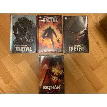 Batman Metal 1, 2 i 3 + Batman Który się śmieje
