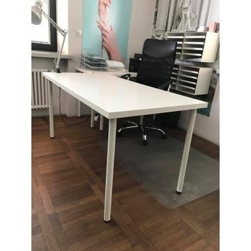 Biurko białe / Stół Ikea (LINNMON / ADILS)