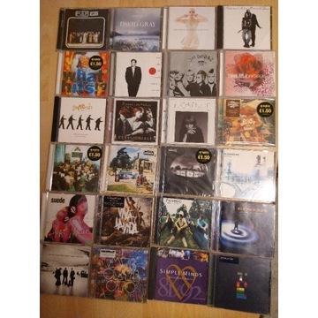 24 CD rock britpop Oasis,Coldplay, Radiohead,U2