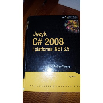 Książka język c# 2008 .net 3.5