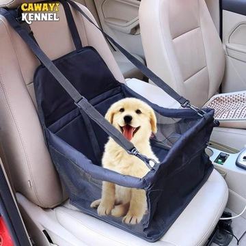Siodełko samochodowe dla zwierząt