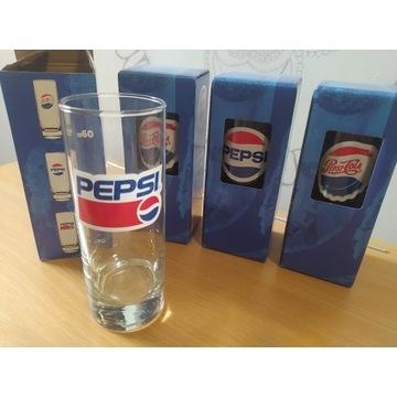 Szklanki Pepsi zestaw 4szt komplet szklanka